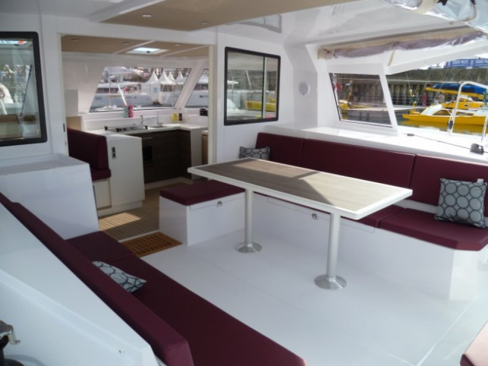 Verhuur Catamaran in Martinique - Nautitech Nautitech Open 40