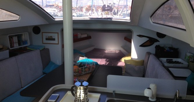 Verhuur Zeilboot Fora Marine met vaarbewijs