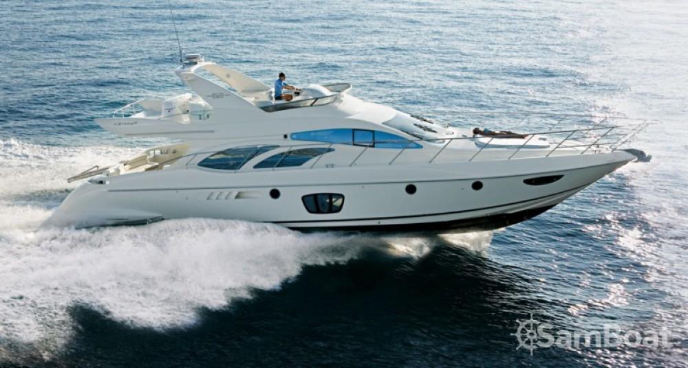 Huur Jacht met of zonder schipper Azimut in Cannes