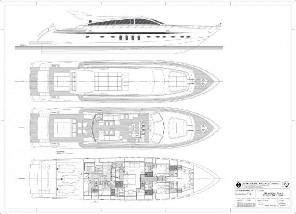 Verhuur Jacht in Saint-Tropez - Leopard 31
