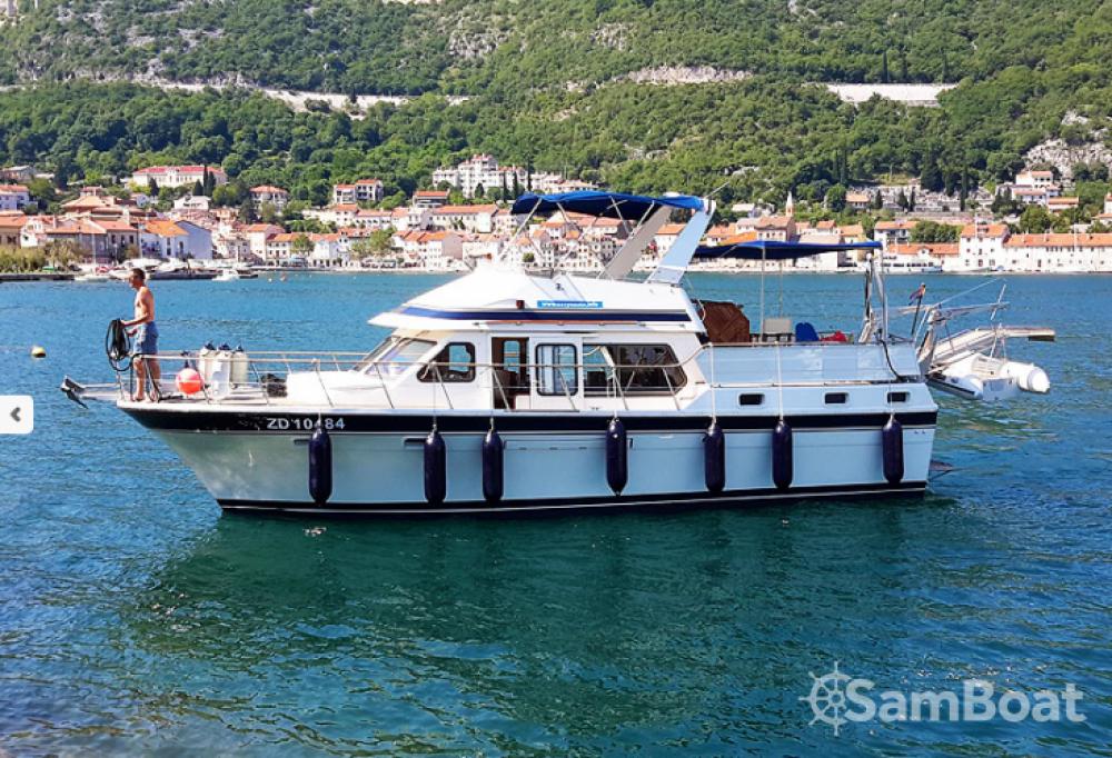 Trawler Wheelchair accessible boat te huur van particulier of professional in Grad Zadar