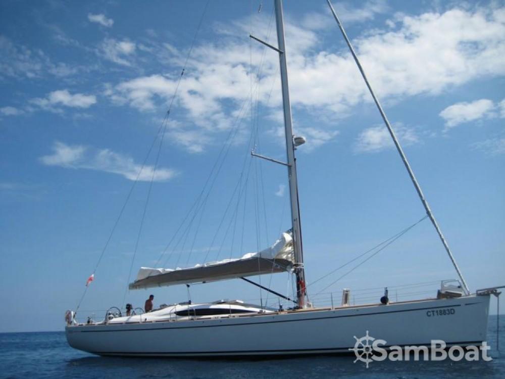 """Verhuur Zeilboot in Lipari - Comar COMET 62"""" RS"""