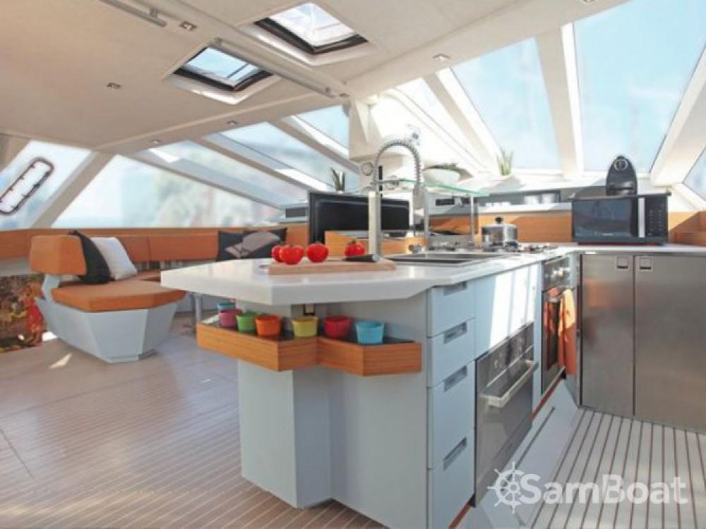 Verhuur Catamaran in Balearen - Diamante Diamante 555