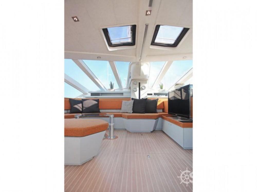 Verhuur Catamaran Diamante met vaarbewijs