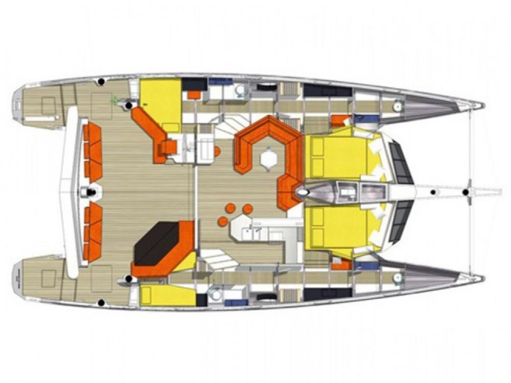 Huur Catamaran met of zonder schipper Diamante in Balearen