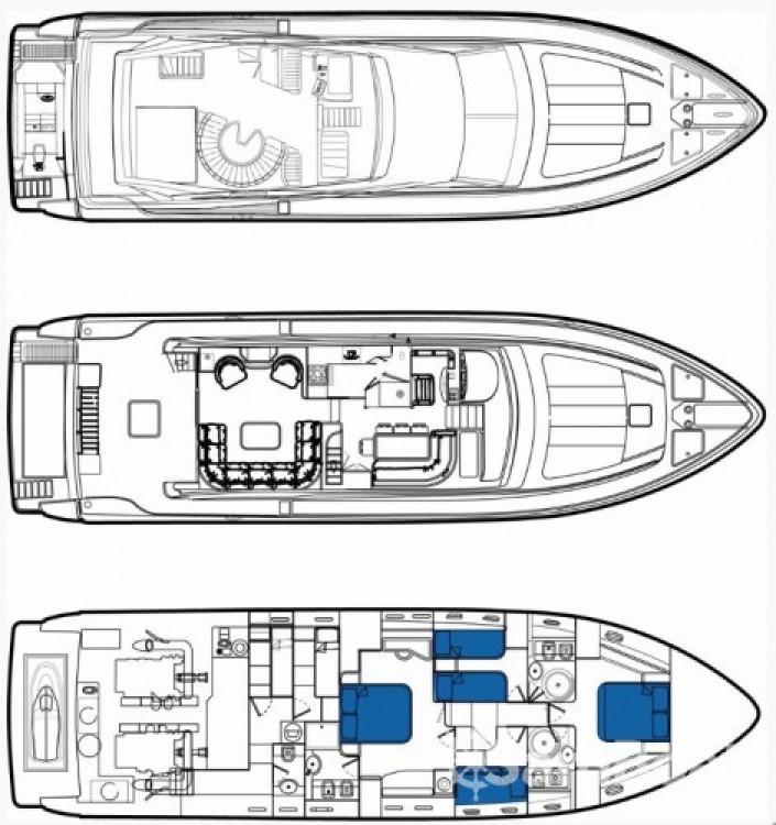 Bootverhuur Ferretti yacht in Athene via SamBoat