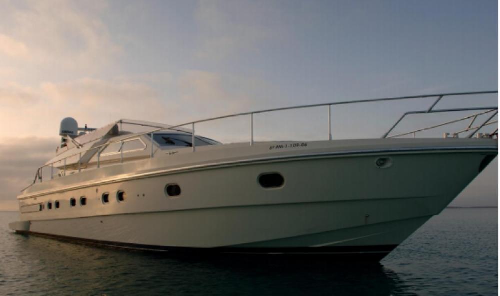 Bootverhuur Ibiza goedkoop Ferretti 175