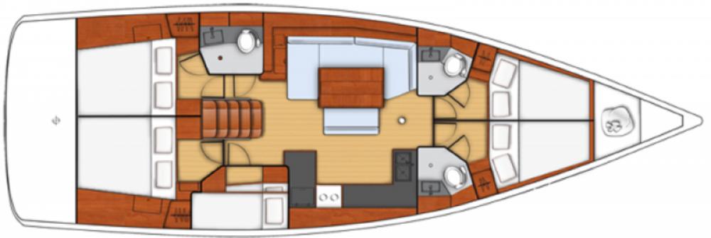 Verhuur Zeilboot in Cagliari - Casteddu - Bénéteau Oceanis 48