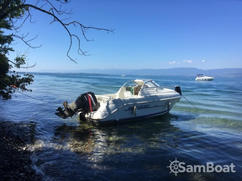 Bootverhuur Quicksilver Quicksilver 520 Cruiser in Évian-les-Bains via SamBoat