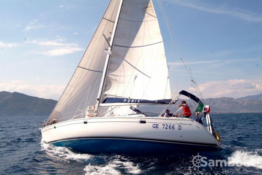 Huur een Jeanneau Sun Odyssey 52.2 in Andora