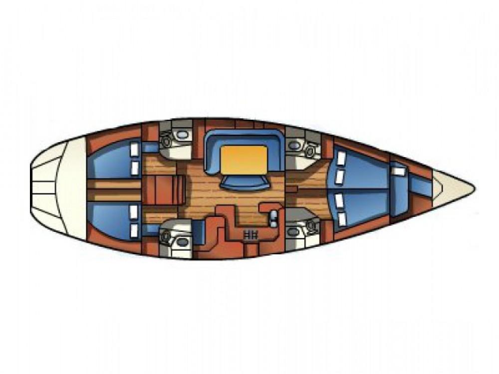 Verhuur Zeilboot in Andora - Jeanneau Sun Odyssey 52.2
