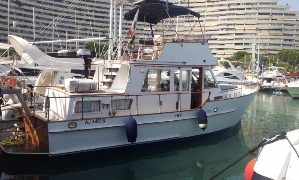 Verhuur Motorboot in Villeneuve-Loubet - Island Gypsy Island Gypsy 36