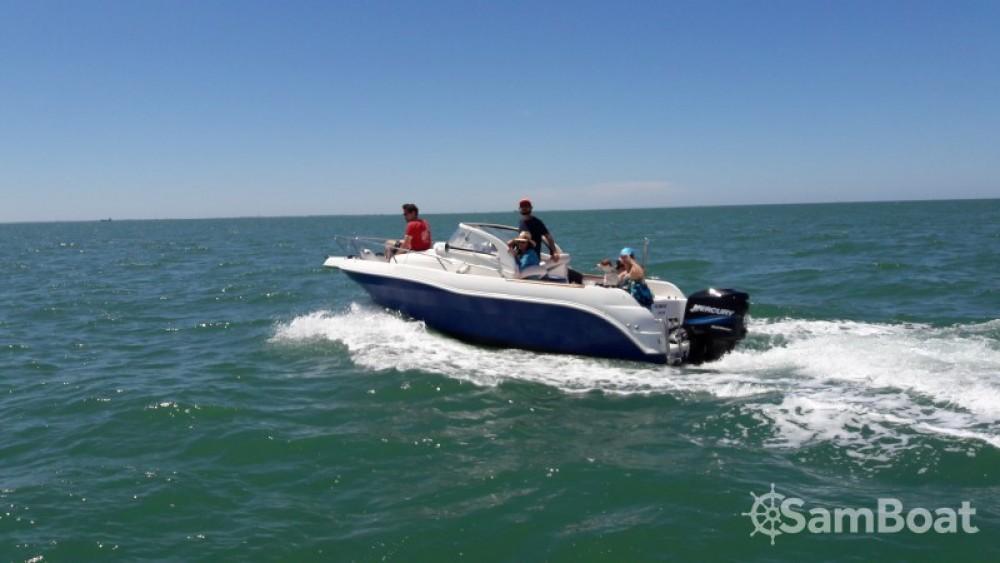 Bootverhuur La Rochelle goedkoop Quicksilver 630 WA