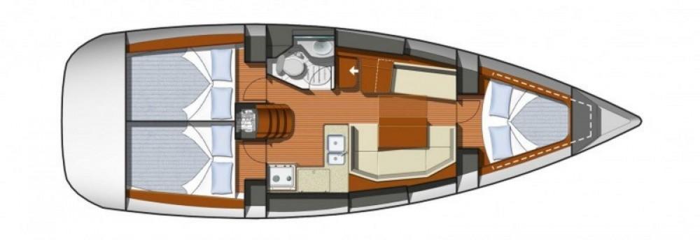 Verhuur Zeilboot in Cannes - Jeanneau Sun Odyssey 36i