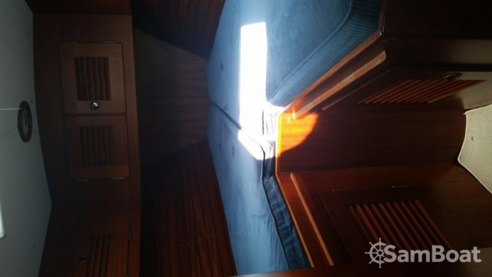 Verhuur Zeilboot in Villeneuve-Loubet - Hallberg-Rassy Hallberg Rassy 42E