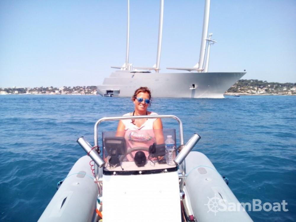 Bootverhuur Capelli Tempest 500 Work in Antibes via SamBoat