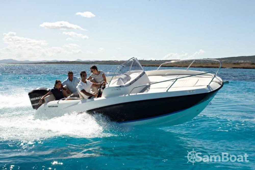 Verhuur Motorboot in Marseille - Quicksilver Quicksilver 605 Sundeck