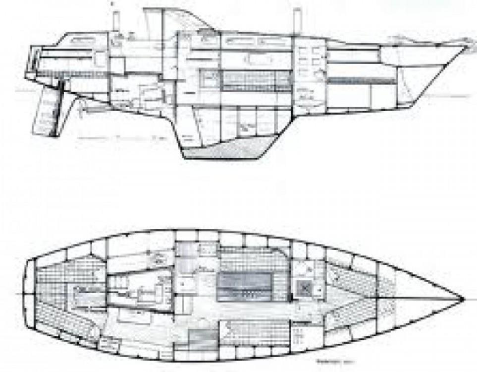 Verhuur Zeilboot Amel met vaarbewijs
