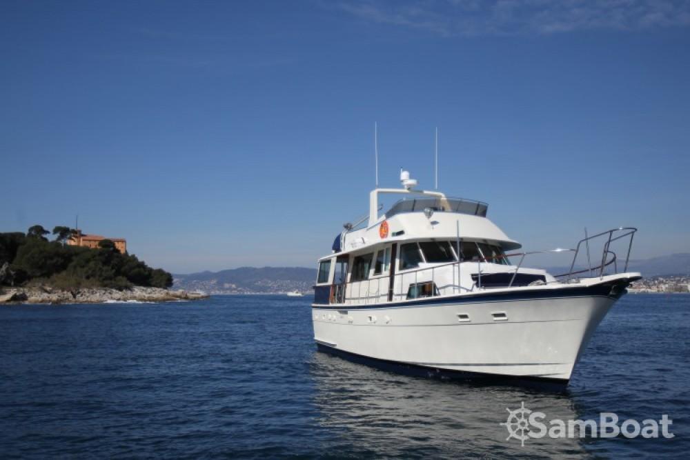 Verhuur Jacht in Golfe-Juan - Hatteras M/Y 56'