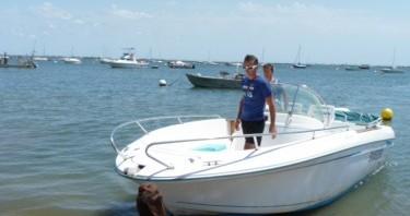 Verhuur Motorboot in L'Herbe - Jeanneau Cap Camarat 625