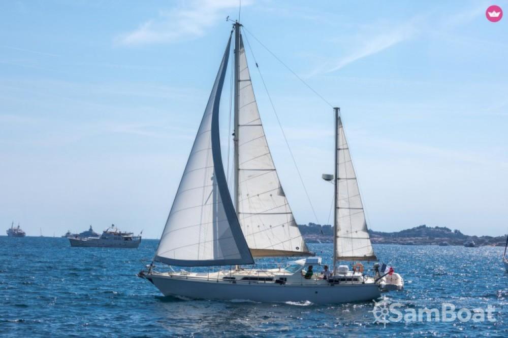 Huur Zeilboot met of zonder schipper Amel in Cogolin
