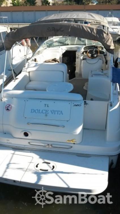 Sea Ray Sea Ray 260 Sundancer te huur van particulier of professional in Mandelieu-la-Napoule
