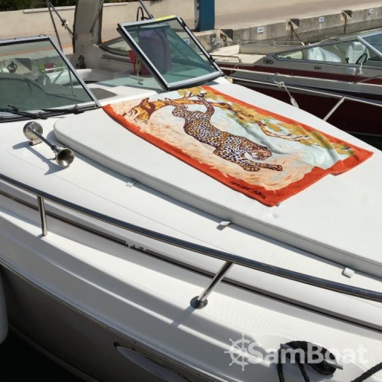 Verhuur Motorboot in Cannes - Rinker 260 EC