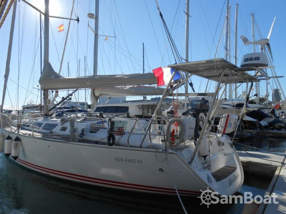 Verhuur Zeilboot in Bandol - Jeanneau Sun Fast 43