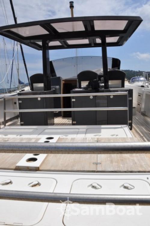 Verhuur Motorboot in Cogolin - Fjord Fjord 40 Open