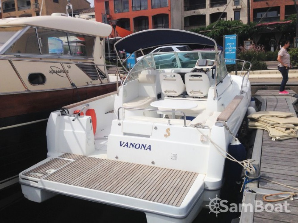 Verhuur Motorboot in Porto-Vecchio - Bénéteau Ombrine 800