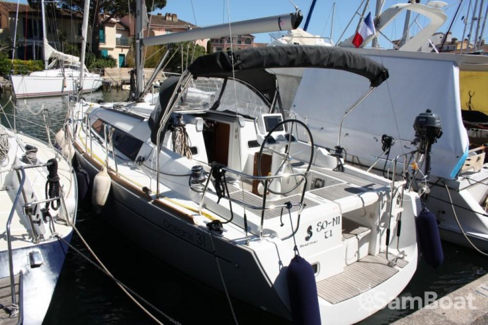 Bootverhuur Grimaud goedkoop Oceanis 31