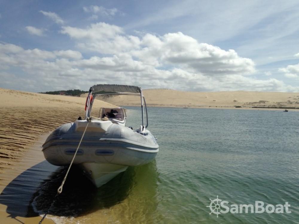 Huur Rubberboot met of zonder schipper Sacs in Lège-Cap-Ferret