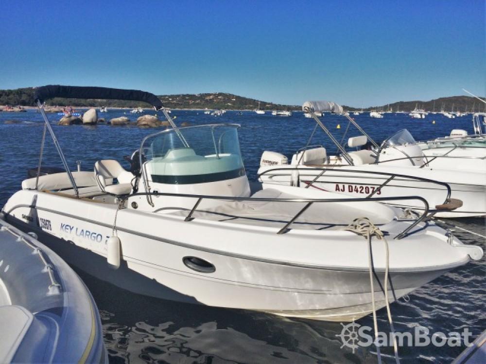 Huur een Sessa Marine Key Largo 22 in Porto-Vecchio