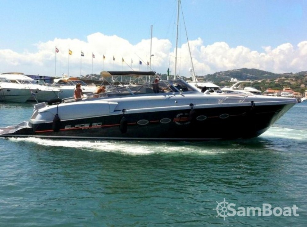 Verhuur Motorboot in Cannes - Solare Blade Marine 50