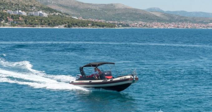 Verhuur Rubberboot Inmark-Marine met vaarbewijs