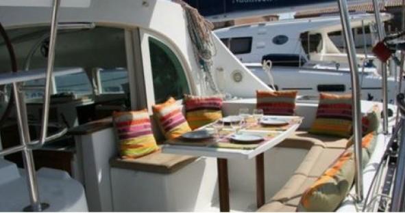Verhuur Catamaran in Ibiza Town - Lagoon Lagoon 380 S2
