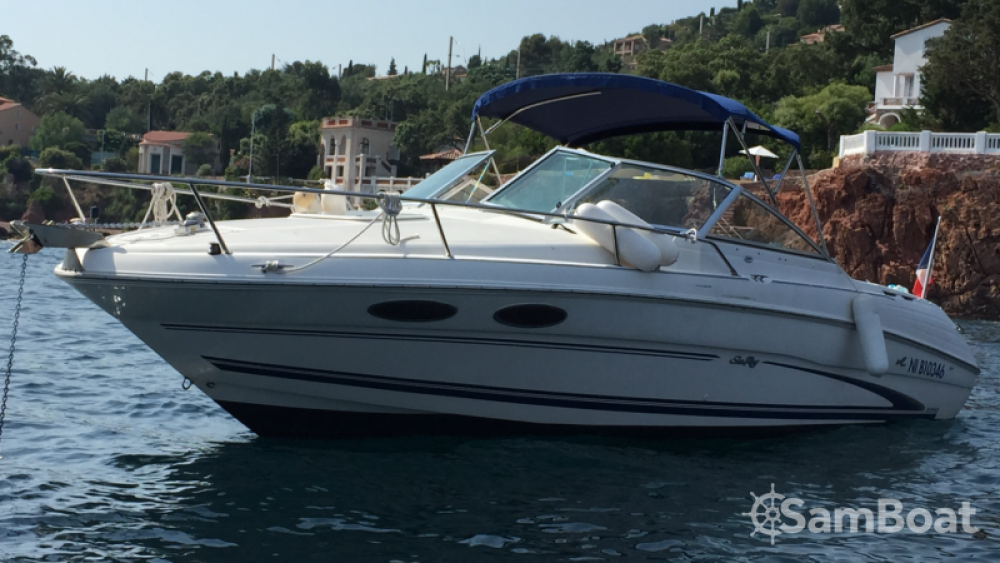 Verhuur Motorboot in Mandelieu-la-Napoule - Sea Ray Sea Ray 260