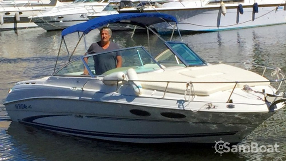 Bootverhuur Mandelieu-la-Napoule goedkoop Sea Ray 260