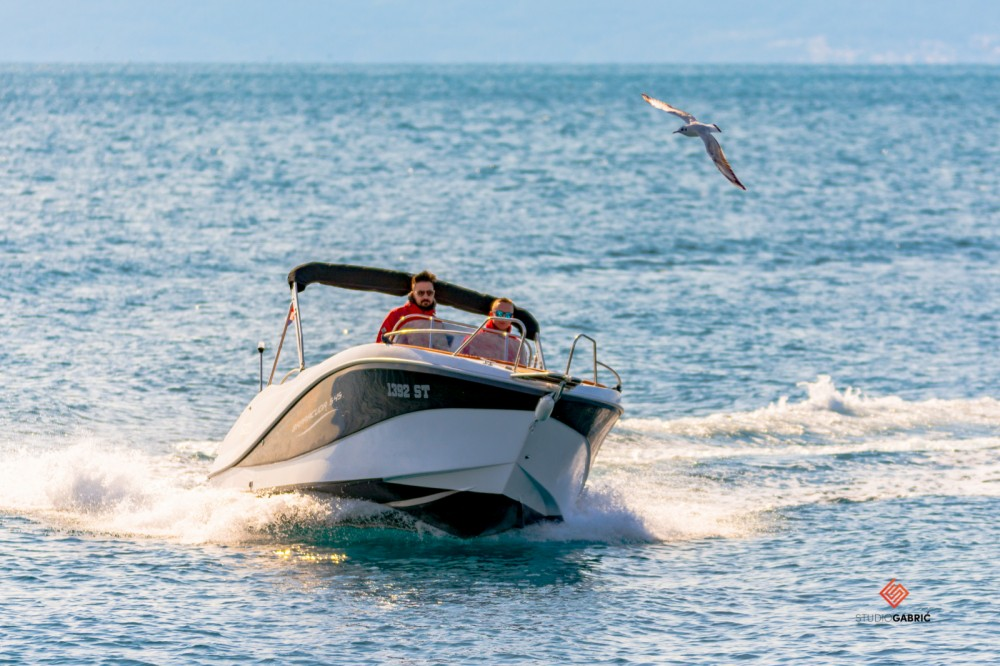 Verhuur Motorboot in Split - Okiboats Barracuda 545 Open