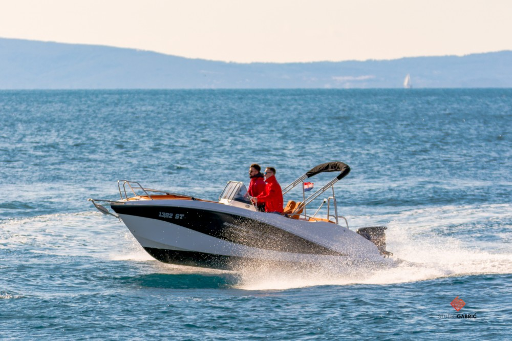 Bootverhuur Okiboats Barracuda 545 Open in Split via SamBoat