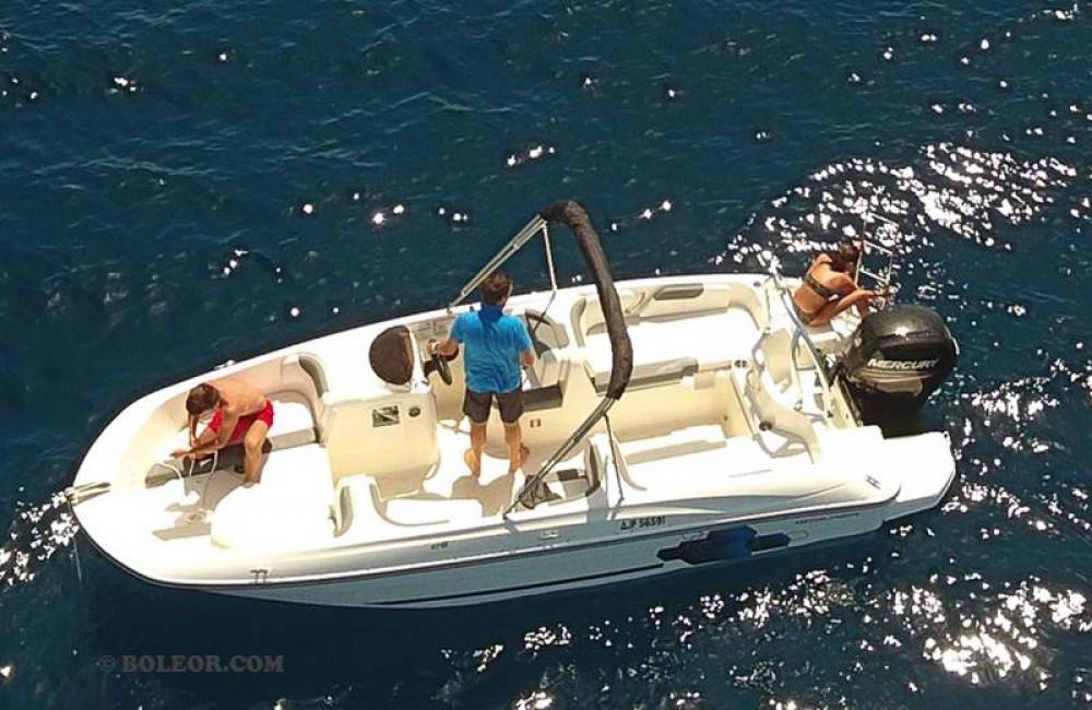 Boleor Q600 'Atlas' (8p/115hp) te huur van particulier of professional in Palma