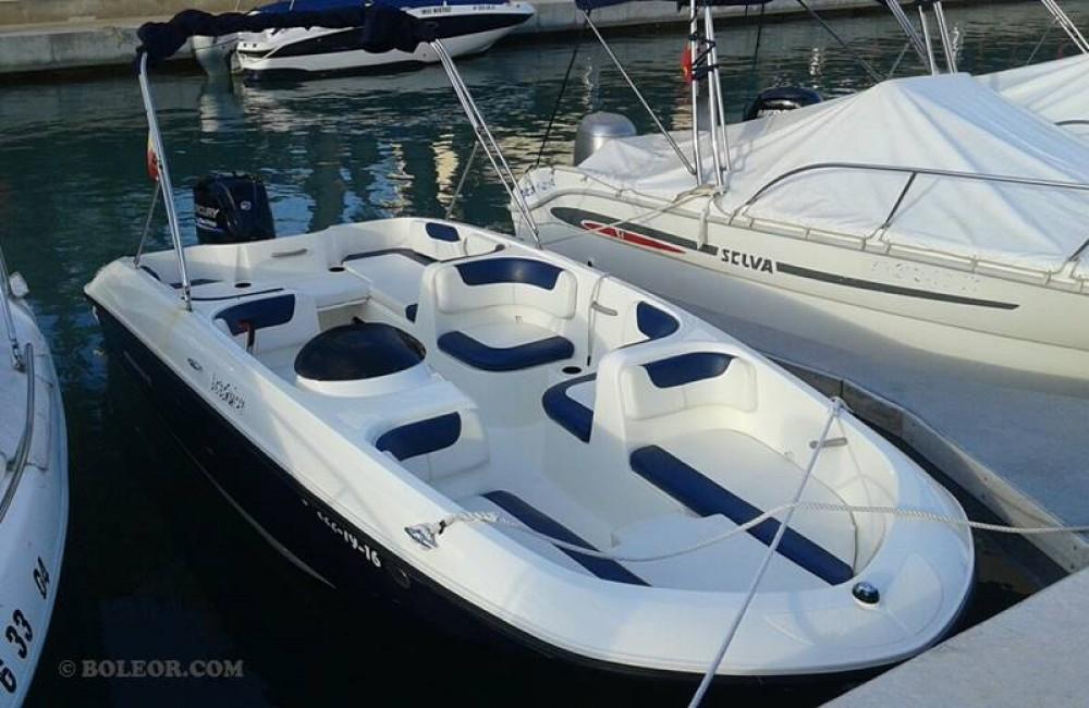 Bootverhuur Boleor Q600 'Atlas' (8p/115hp) in Palma via SamBoat