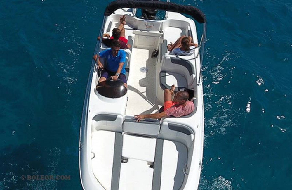Jachthuur in Palma - Boleor Q600 'Atlas' (8p/115hp) via SamBoat
