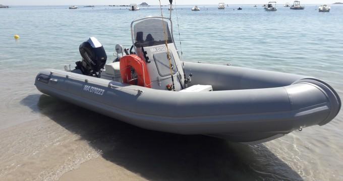 Verhuur Rubberboot Narwhal met vaarbewijs