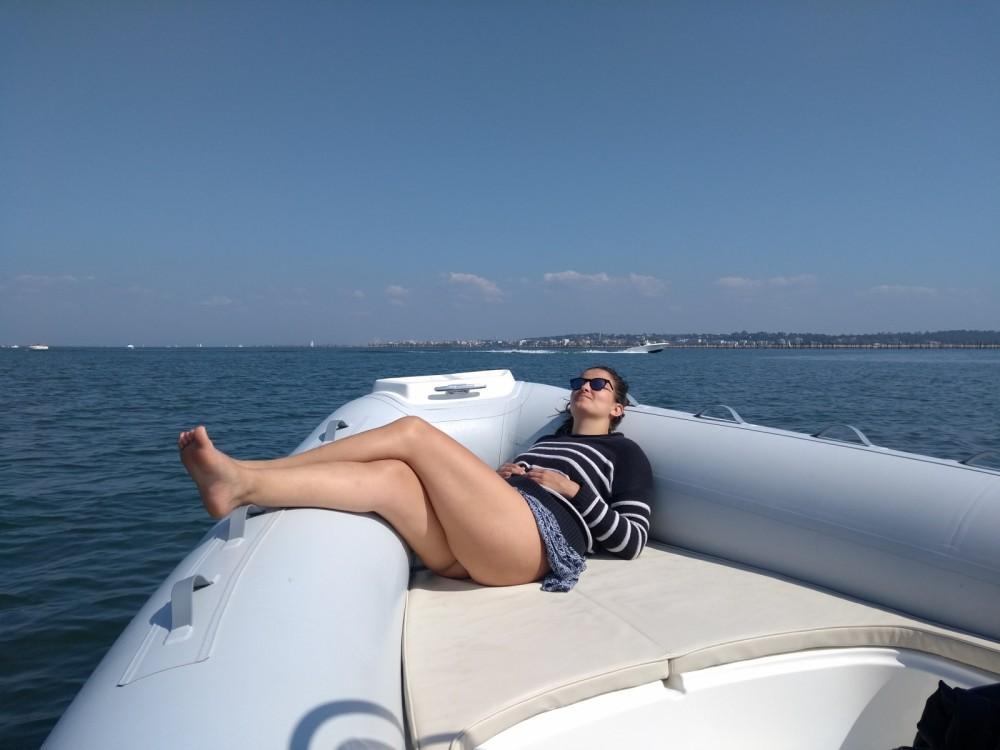Verhuur Rubberboot in Lège-Cap-Ferret - Marsea Marsea SP 90