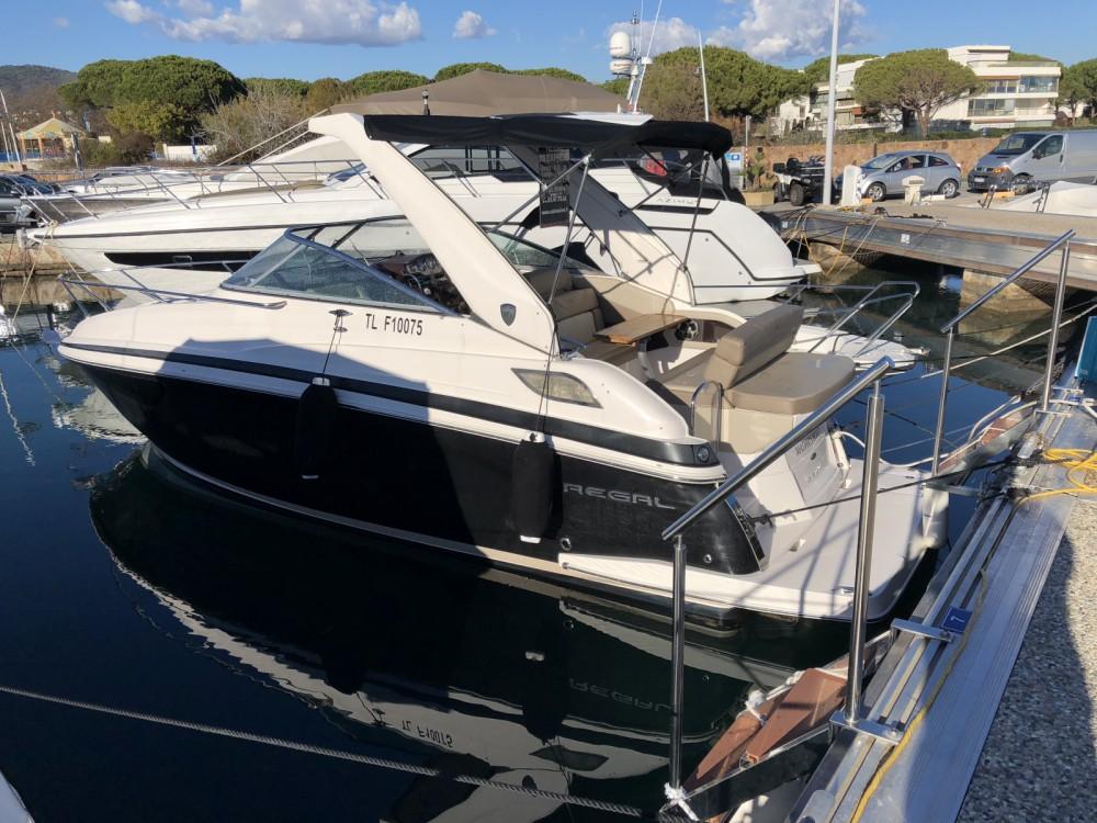 Verhuur Motorboot Régal met vaarbewijs