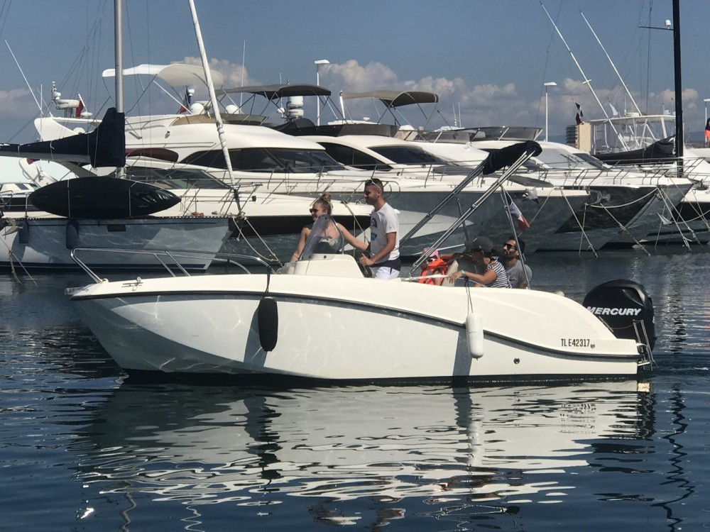 Verhuur Motorboot in Fréjus - Quicksilver Activ 605 Open