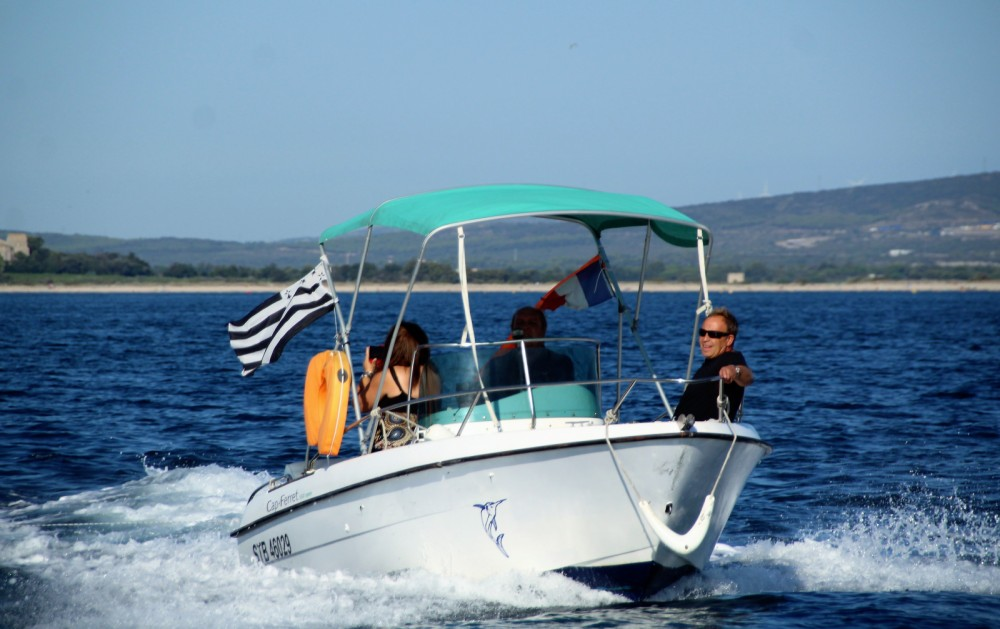 Bootverhuur Palavas-les-Flots goedkoop Cap Ferret