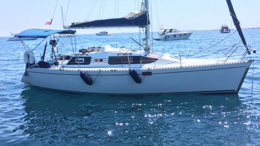 Huur Zeilboot met of zonder schipper Kirie in Cannes