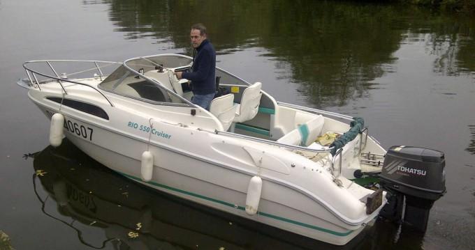 Bootverhuur Grez-Neuville goedkoop Rio 550 Cruiser